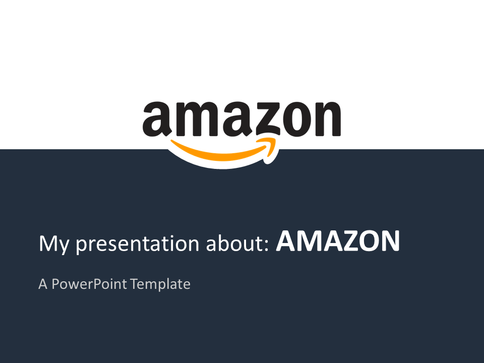 Amazon PowerPoint - Free Template