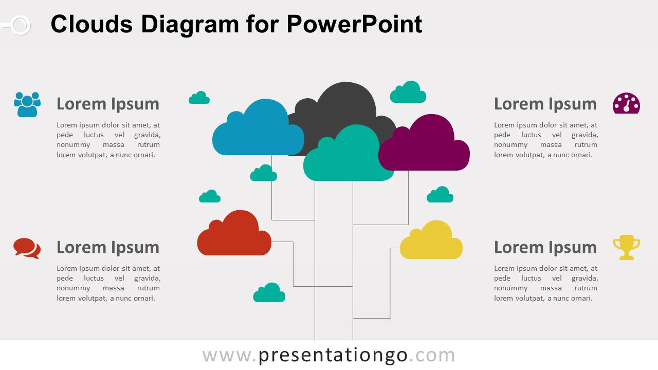 Clouds for PowerPoint