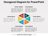 Hexagonal Diagram for PowerPoint