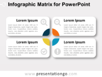 Infographic Matrix Layout for PowerPoint