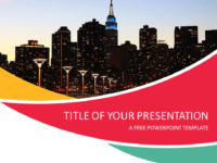 Free City PowerPoint Template