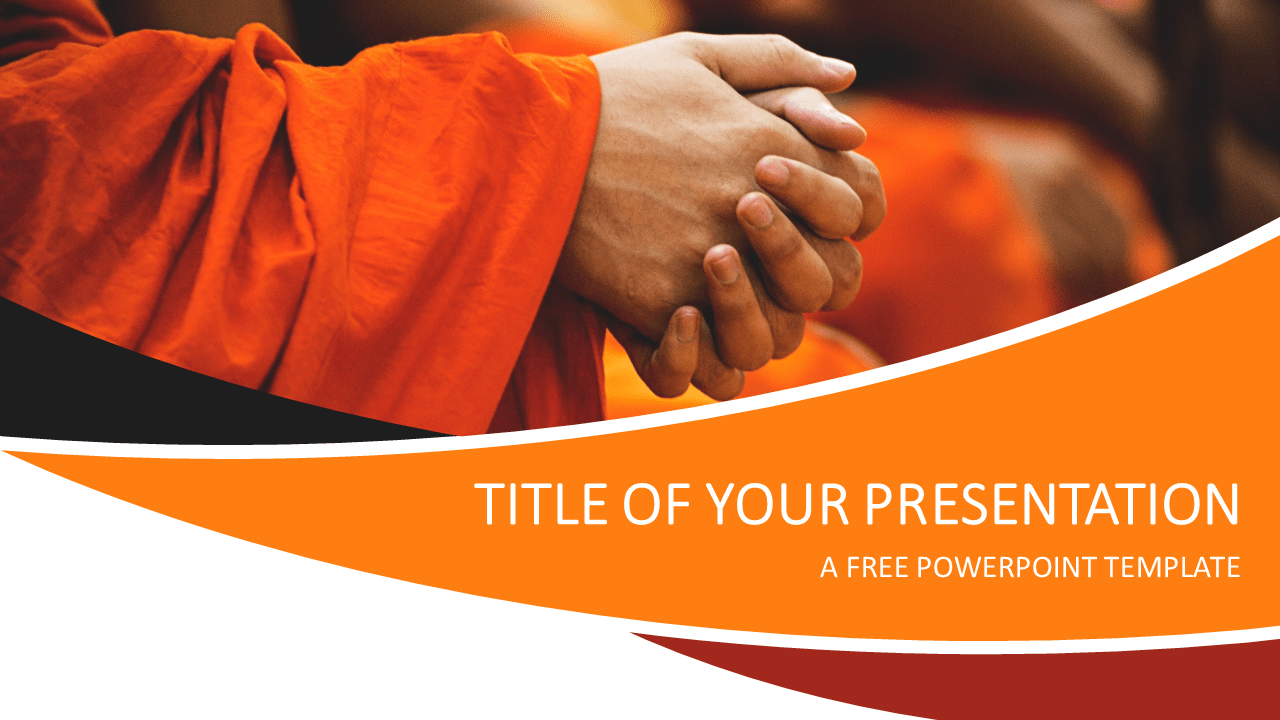 Prayer Free PowerPoint Template