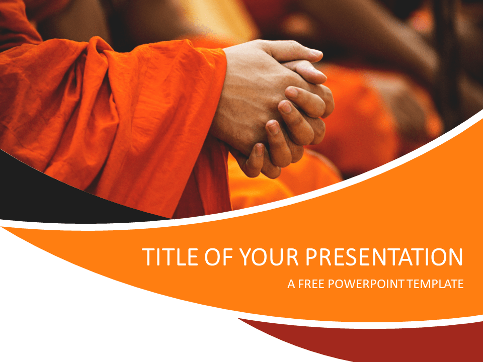 Free Prayer PowerPoint Template