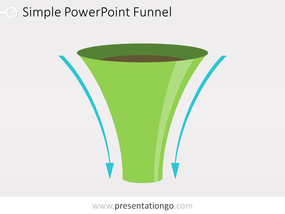 Free editable funnel for PowerPoint