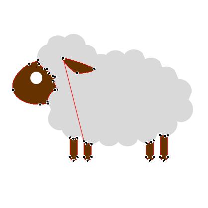 Editable Sheep for PowerPoint