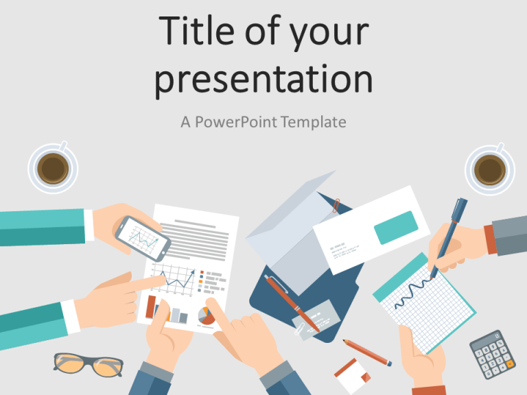 Free Business Meeting PowerPoint Template