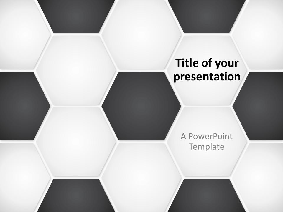 Free Football Soccer Ball PowerPoint Template