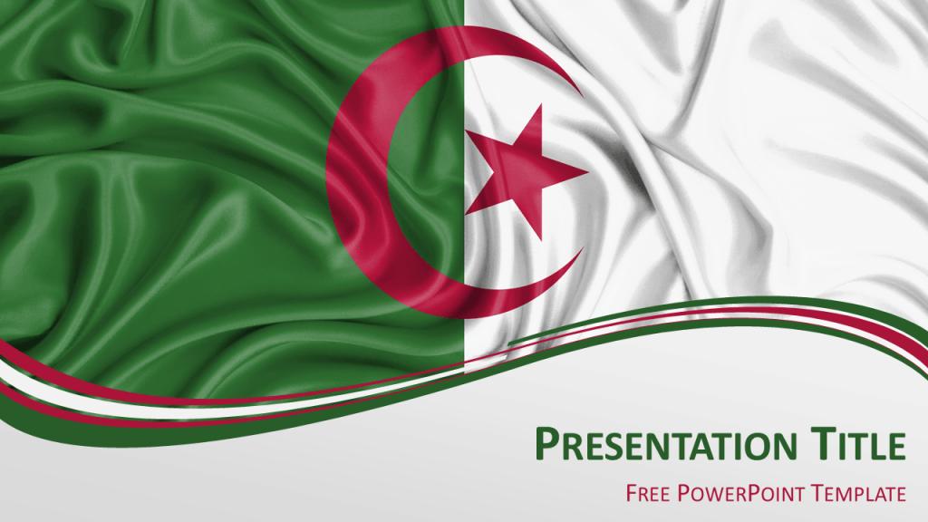 Free Algeria PowerPoint Template