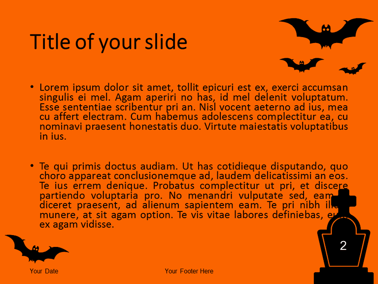Halloween PowerPoint Template - Slide 2