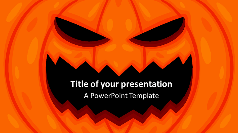 Halloween powerpoint template presentationgocom for Halloween powerpoint templates