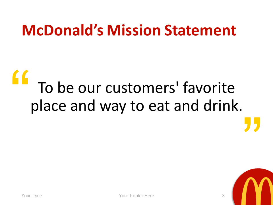 mcdonald s powerpoint template presentationgo com