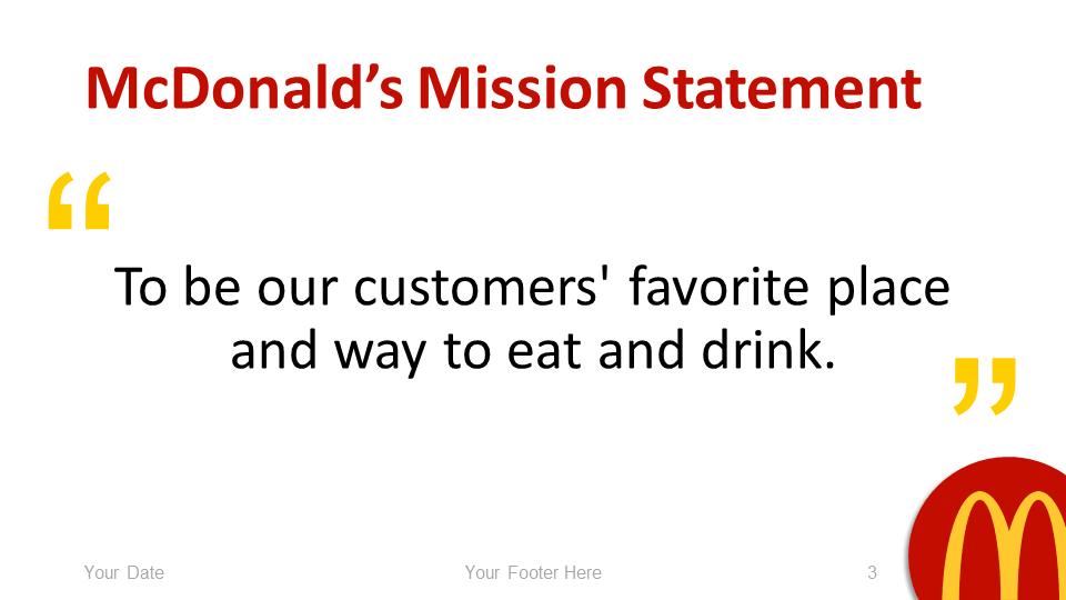 Mcdonald S Powerpoint Template Presentationgo Com