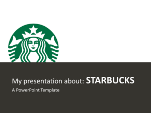 Starbucks PowerPoint - Free Template