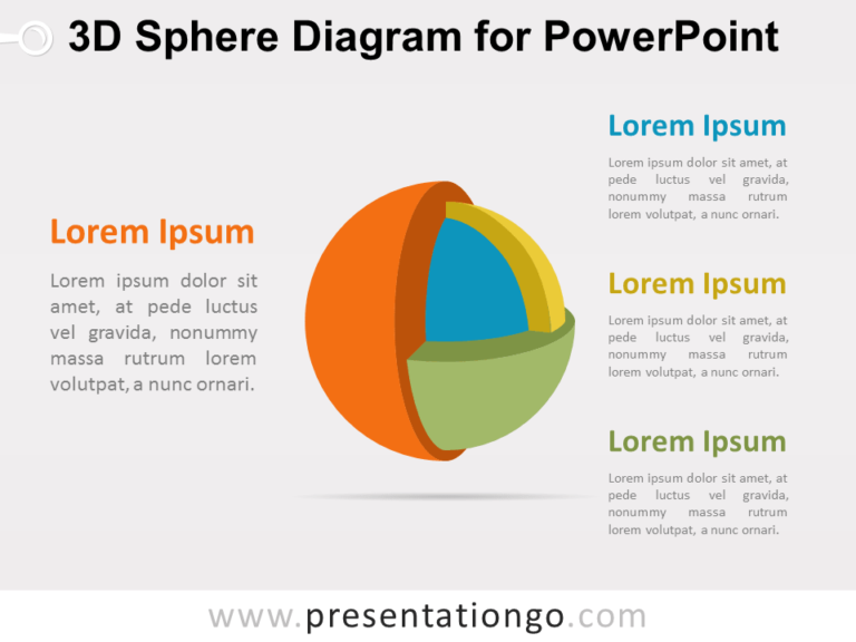 3D Sphere for PowerPoint