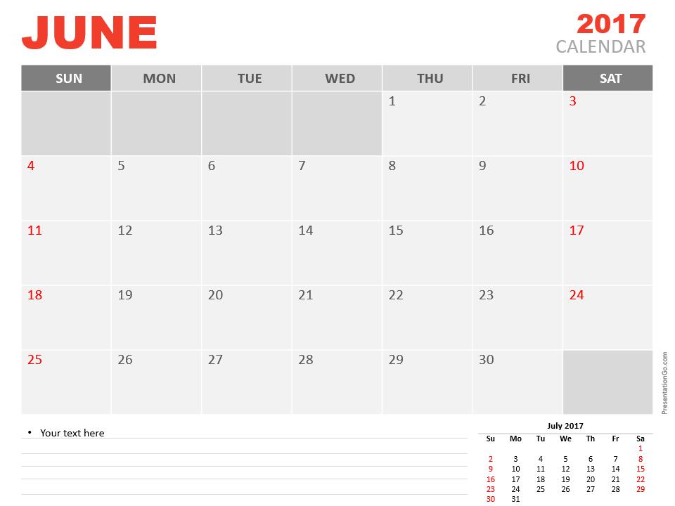 Calendar Powerpoint