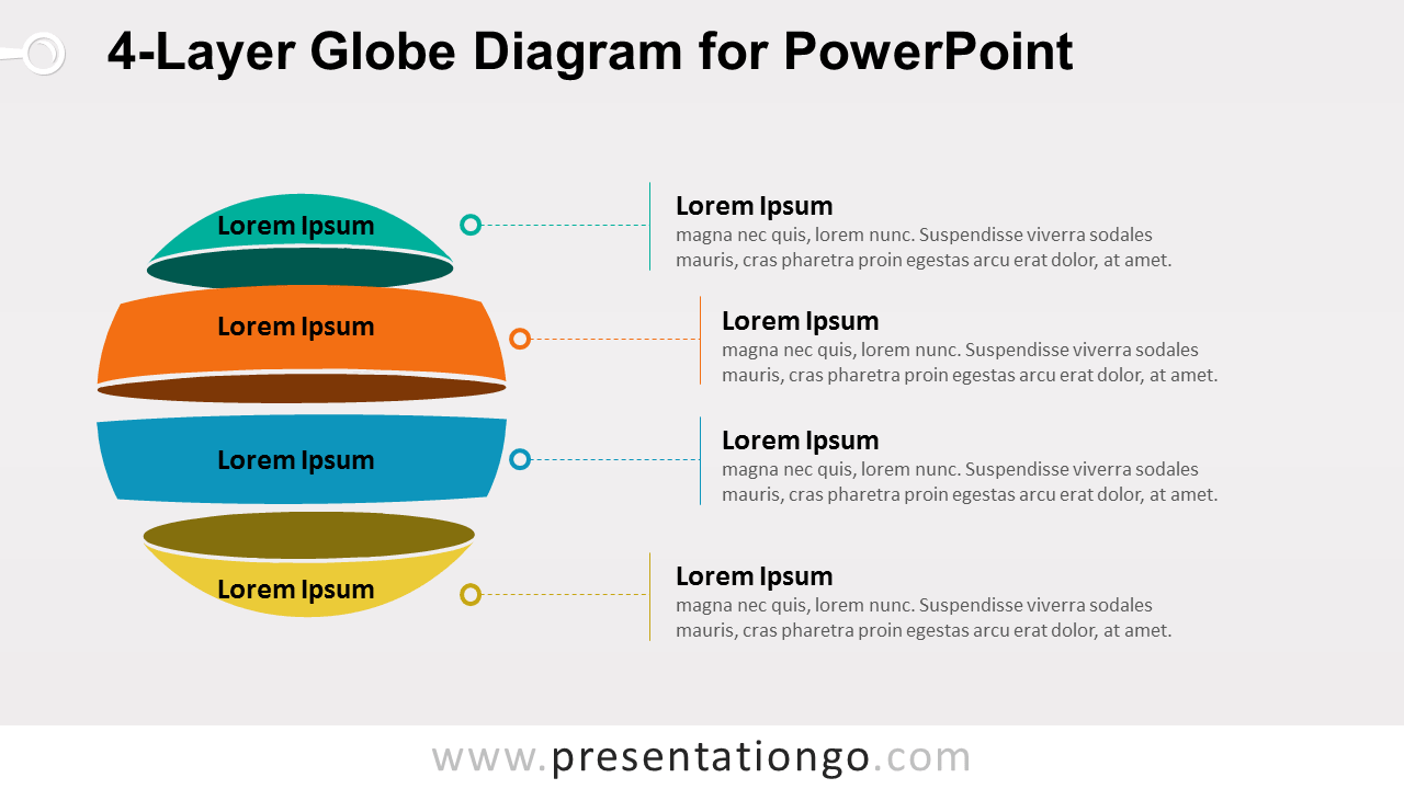 Globe Diagram for PowerPoint