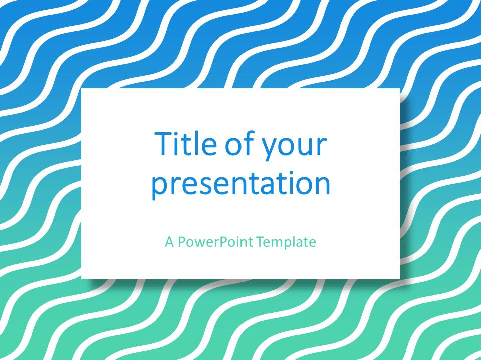 free light blue powerpoint templates presentationgo com