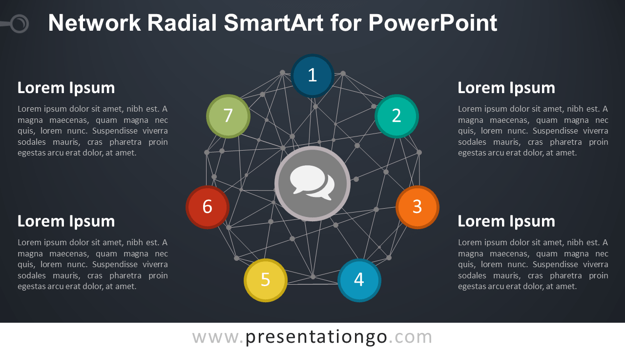 Smart Art Wiring Diagram Anything Diagrams Powerpoint Network Radial Smartart For Presentationgo Com Rh Engineering Venmar Model 1601612