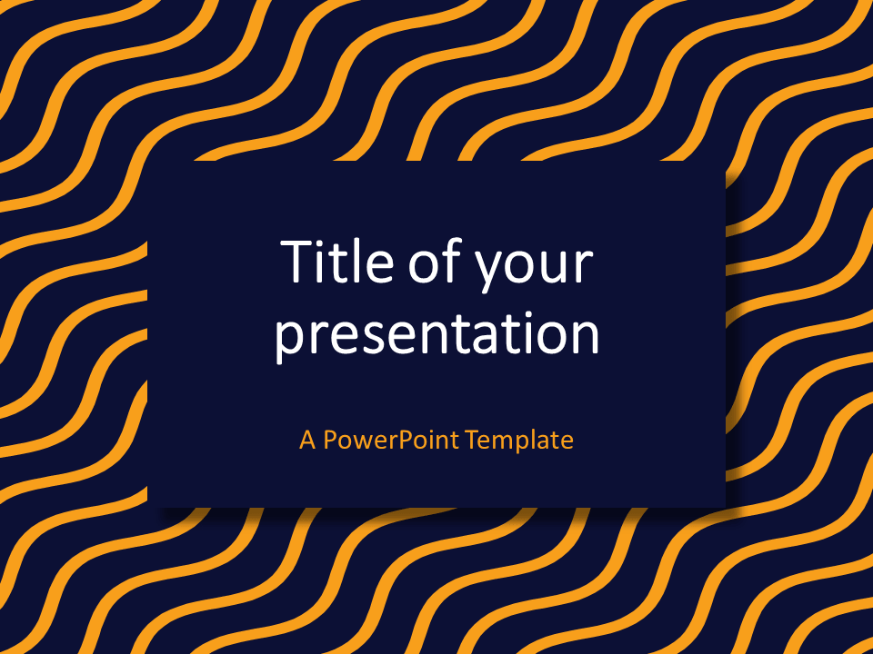 Blue yellow wavy pattern powerpoint template presentationgo yellow blue wavy pattern powerpoint template toneelgroepblik Choice Image