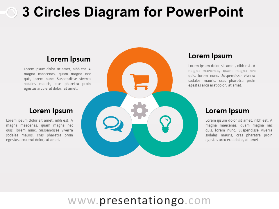 3 circles diagram for powerpoint presentationgo com
