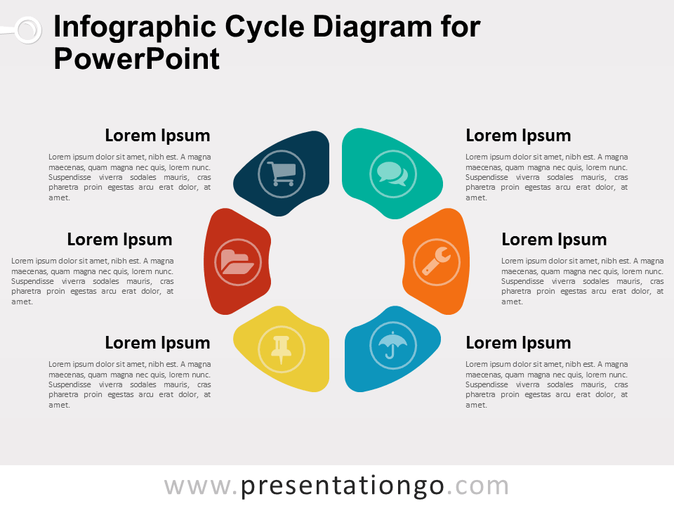Infographic cycle diagram for powerpoint presentationgo view larger image infographic ccuart Images