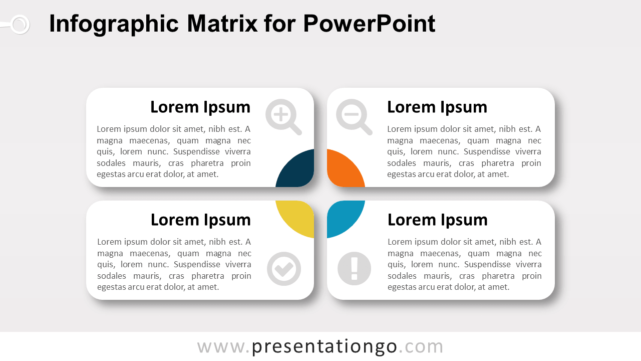 Matrix Diagram for PowerPoint