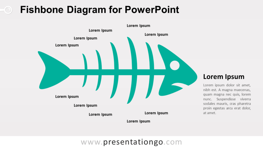 Cause and Effect - Fishbone Diagram for PowerPoint