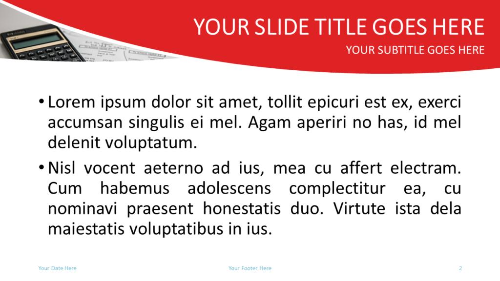 Finance Free PowerPoint Template - Slide 2