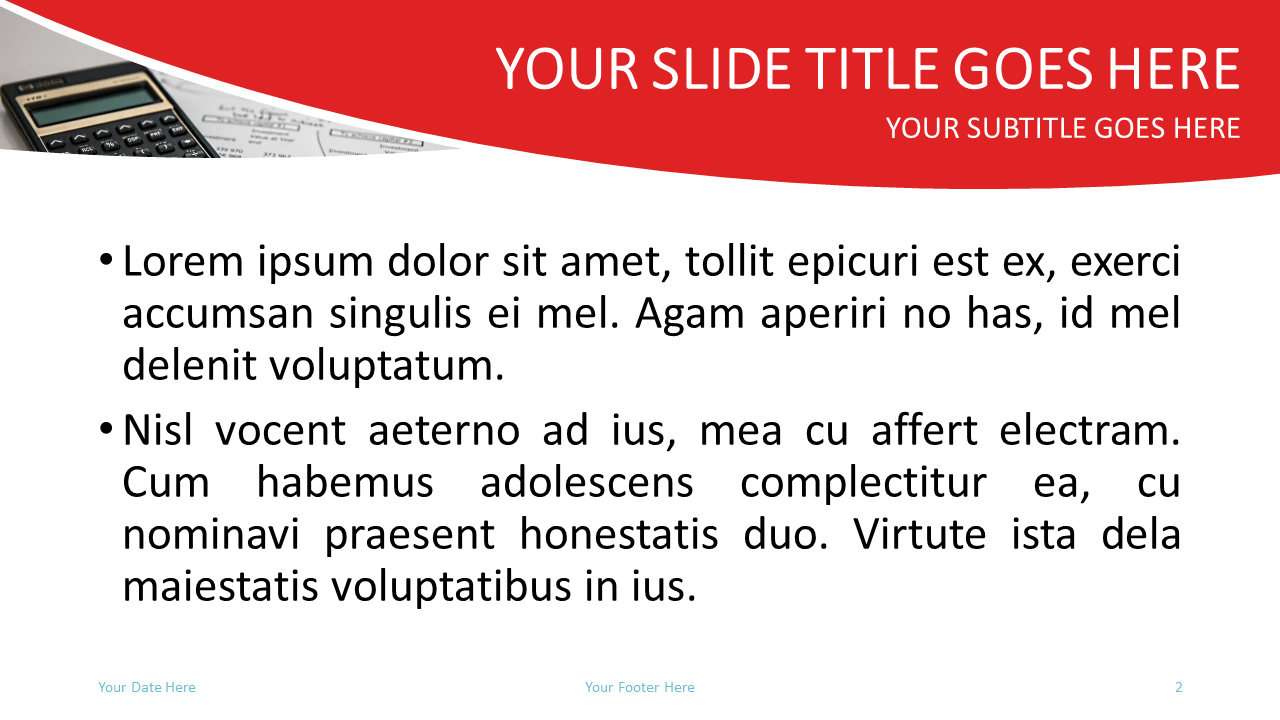 Finance Free PowerPoint Template - Slide 2