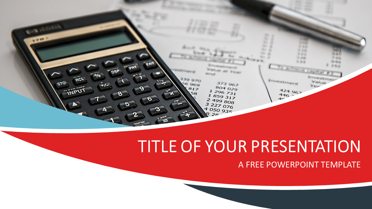 Finance Free PowerPoint Template