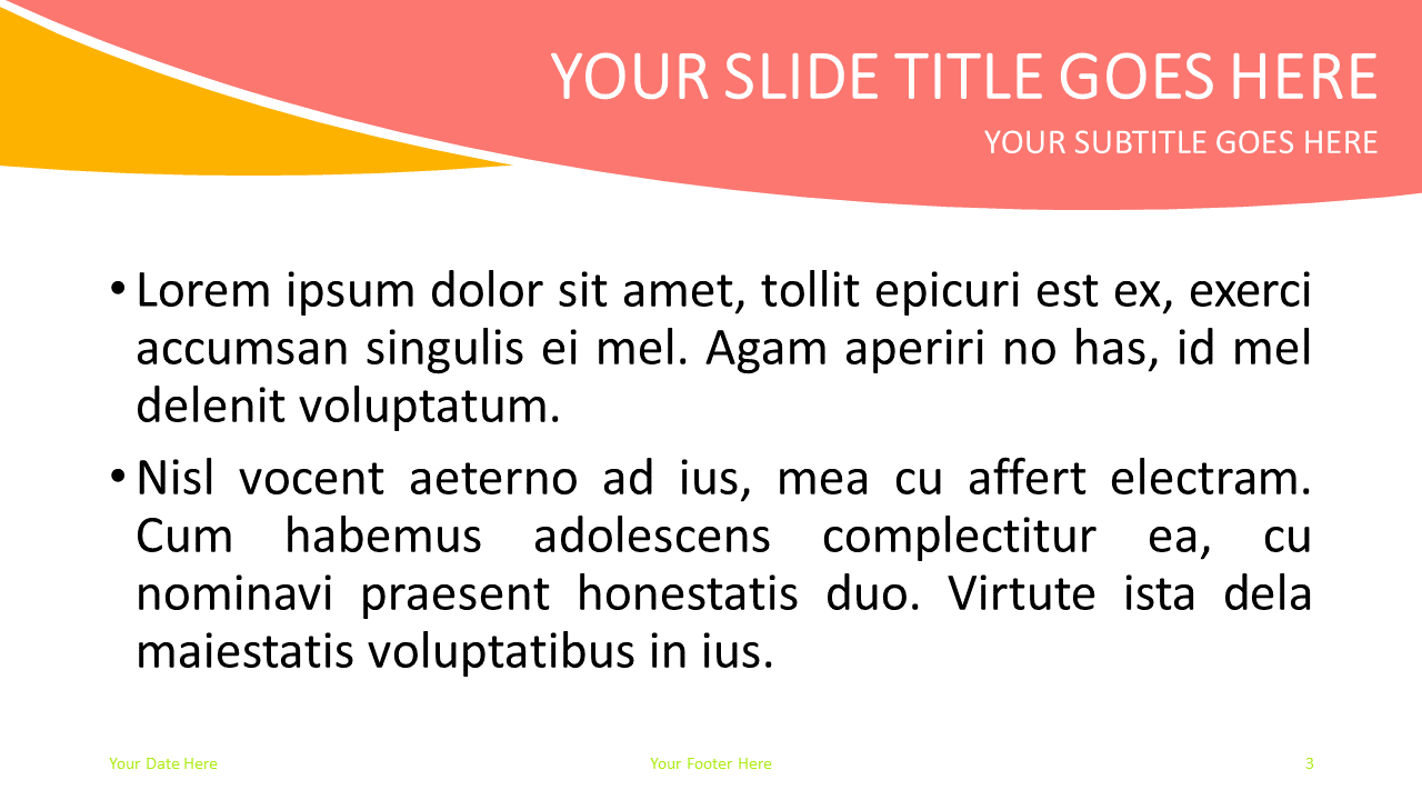 Fruits Free PowerPoint Template - Slide 3