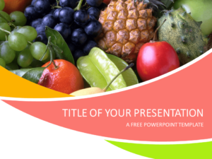 Free Fruits PowerPoint Template