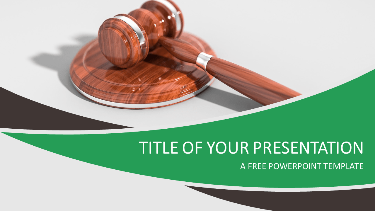 justice and law powerpoint template - presentationgo, Powerpoint templates
