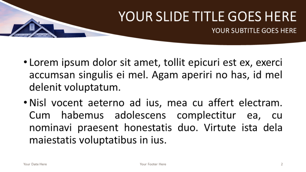 Real Estate Free PowerPoint Template - Slide 2