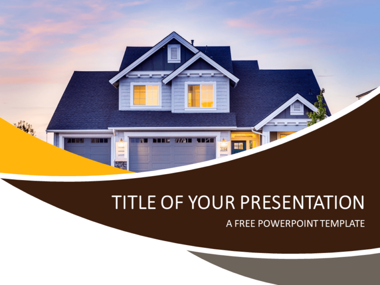 Real Estate PowerPoint Template
