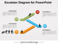 Free stairs powerpoint templates presentationgo free escalator graphics for powerpoint ccuart Choice Image