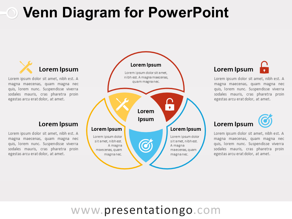 Venn diagram for powerpoint presentationgo view larger image free venn diagram for powerpoint ccuart Choice Image