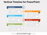 Free timelines powerpoint templates presentationgo vertical timeline diagram for powerpoint toneelgroepblik Image collections
