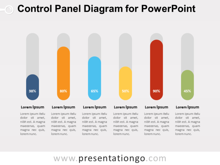 Free Control Panel Diagram for PowerPoint