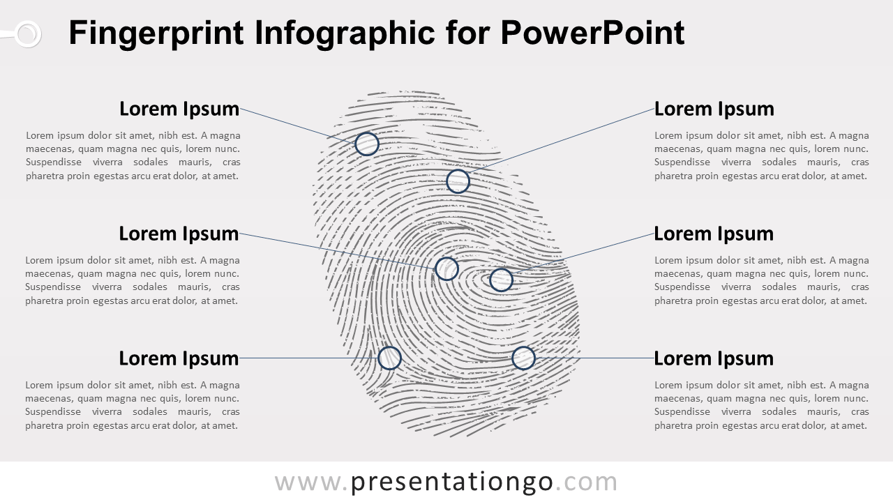 Free Fingerprint for PowerPoint