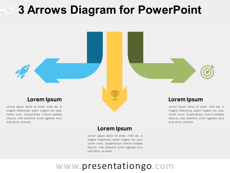 3 arrows diagram for powerpoint presentationgo view larger image free 3 arrows diagram for powerpoint ccuart