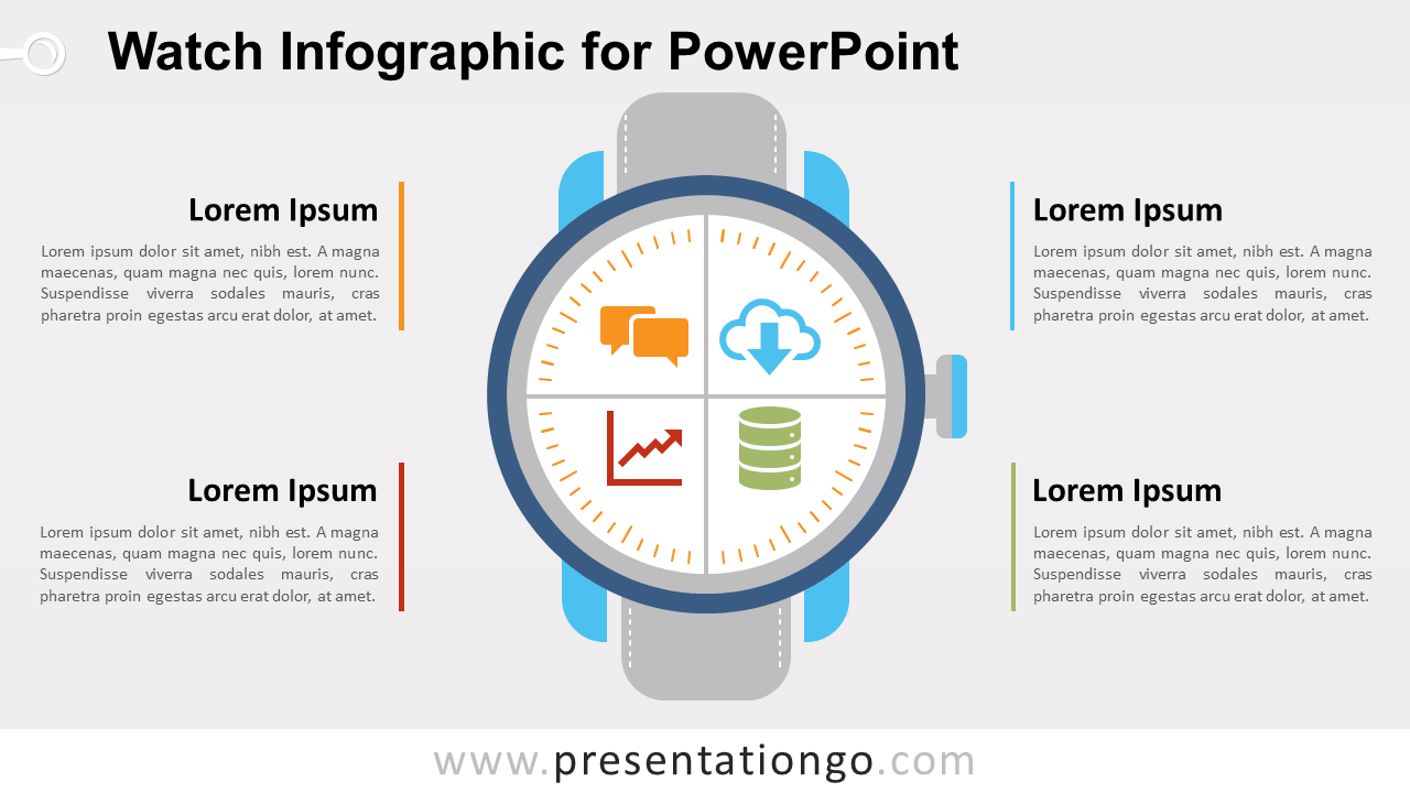 Free Watch Matrix for PowerPoint