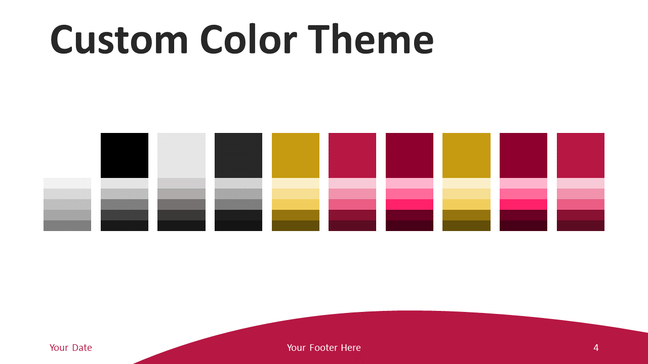Free Business PowerPoint Template - Colors