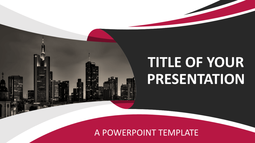 Free Business PowerPoint Template - Cover