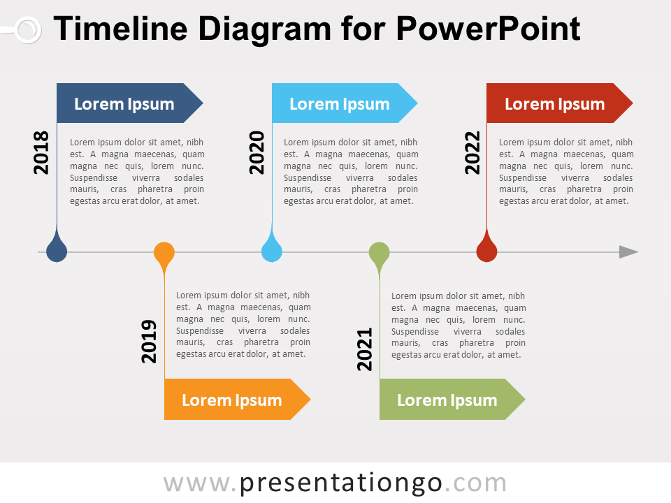timeline diagram for powerpoint presentationgo com
