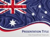 Free Flag Australia PowerPoint Template