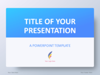 free light blue powerpoint templates - presentationgo, Blue Presentation Template, Presentation templates