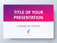 Free purple powerpoint templates presentationgo pink gradient powerpoint template toneelgroepblik Choice Image