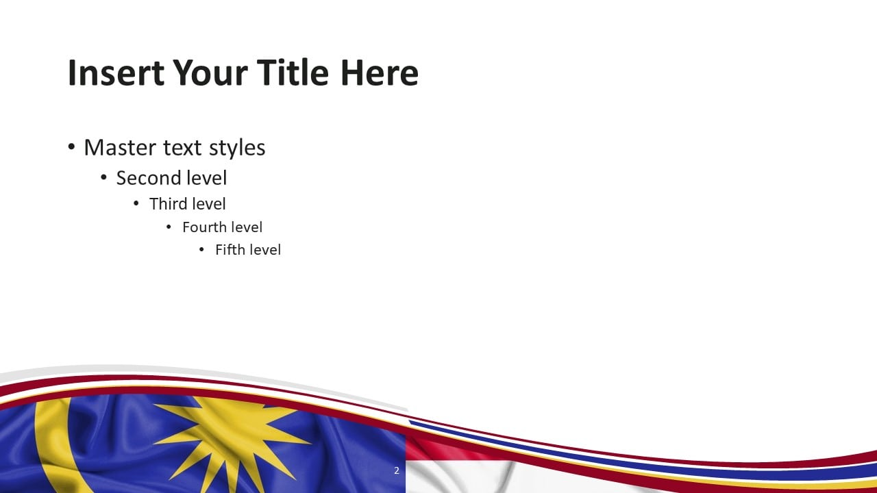 Free Malaysia PowerPoint Template - Slide 2