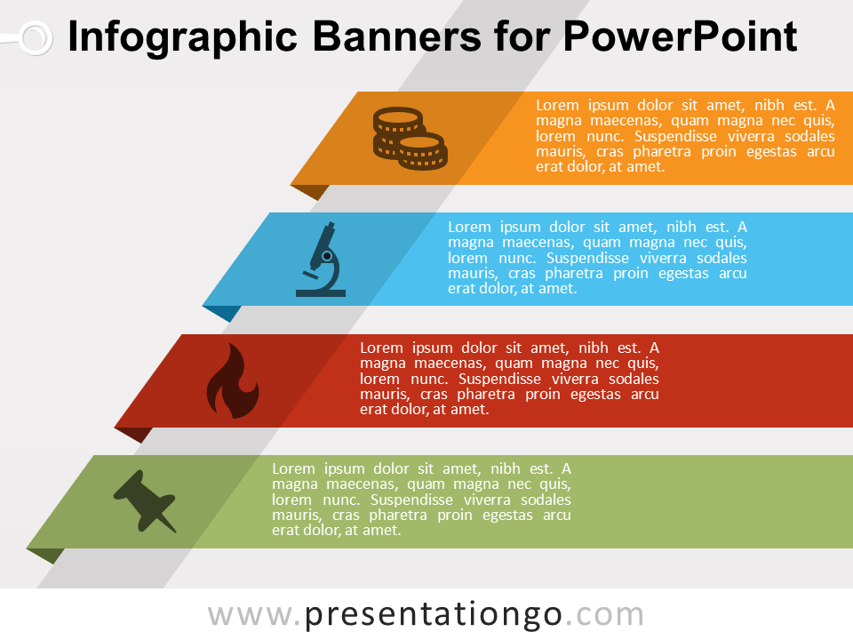 infographic banners for powerpoint presentationgo com